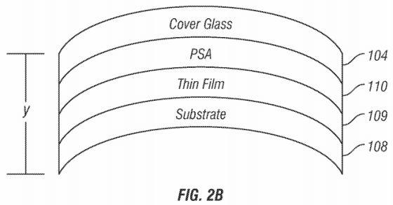 苹果公司获得弧面触摸屏技术专利