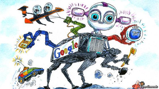 通过一系列并购,谷歌又计划把硬件业务做大