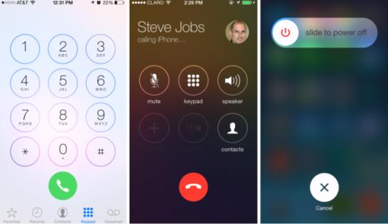 iOS 7.1界面