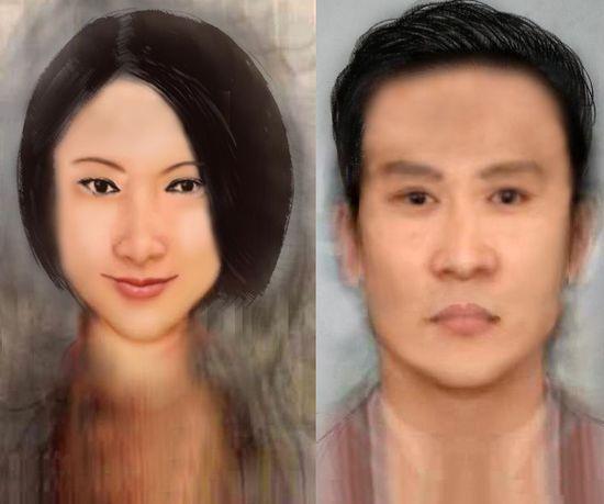 中国大众脸标准