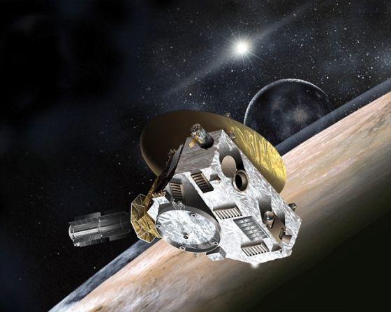 新视野号飞船已于近日穿越海王星轨道。这是这艘飞船抵达冥王星之前最后一次穿越大行星轨道,因而被视作一项重大的里程碑事件。明年7月14日,新视野号飞船将抵达冥王星。
