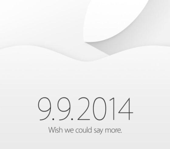苹果公司发出邀请函