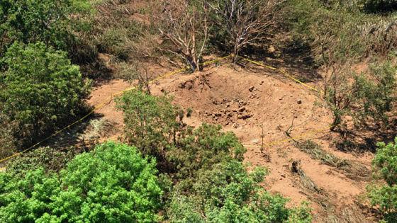 据初步推断,本次事件系一颗飞越地球上空的小行星上掉下一块陨石,砸在马那瓜国际机场附近,造成了这次冲击