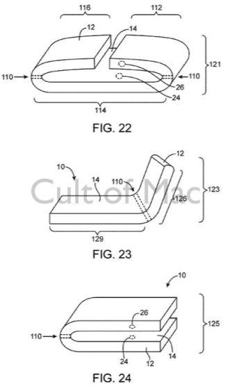 苹果获柔性设备专利