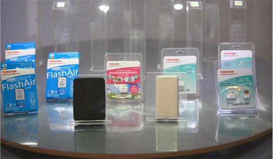 东芝发布第三代无线存储产品
