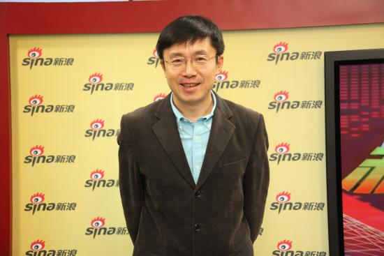 奇艺CEO龚宇做客新浪白银时代访谈间