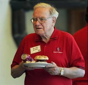 科技时代_巴菲特午餐拍卖拍出263万美元创纪录