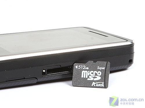 炫酷黑色外观波导学生音乐手机F520评测(3)