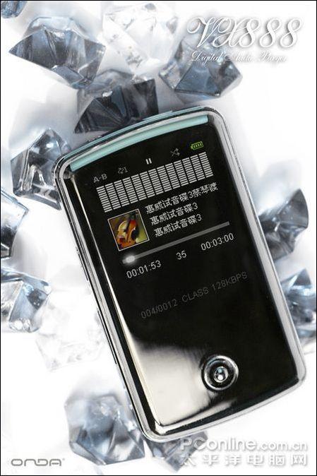 不只是闪耀昂达1G时尚焦点MP3售299/1G