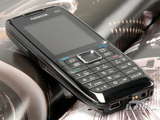 E系商务手机新主张诺基亚E51详细评测