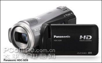 CES2008会展松下1080pHD+3CCD强悍DV