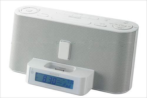 强强联手索尼为iPhone推闹钟音乐设备