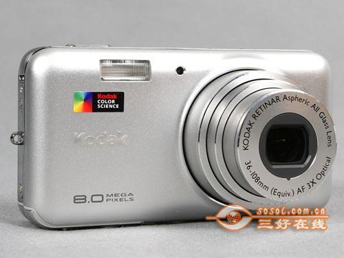时尚卡片相机柯达优弧V803仅售1100元