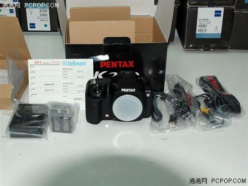 防抖单反数码相机宾得K20D仅售8900元