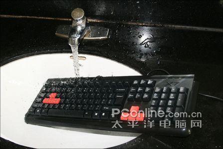 拆解最牛防水键盘双飞燕G300大禹治水评测(6)