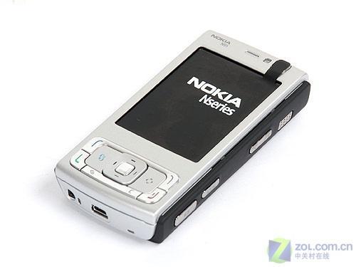 并非8GB诺基亚最新黑色版N95手机图赏