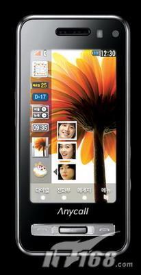 三星推出力反馈WQVGA触摸屏手机Haptic