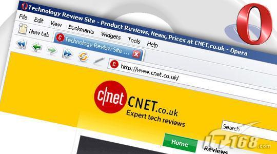 五款网络浏览器评测之Opera篇