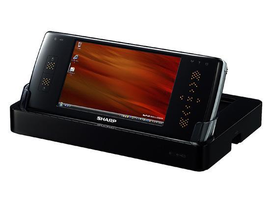 采用Vista系统夏普怪兽手机WS016SH赏(2)
