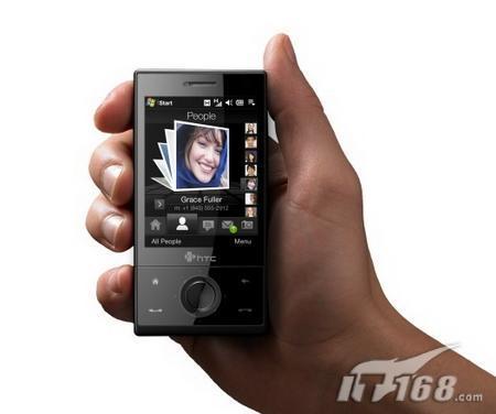 320万像素HTC旗舰TouchDiamond登场