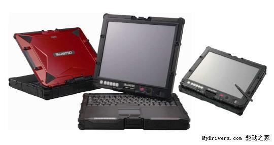NEC耐用LED背光平板电脑新品亮相_笔记本