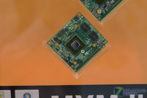 同德展示MXMⅡ显卡模块