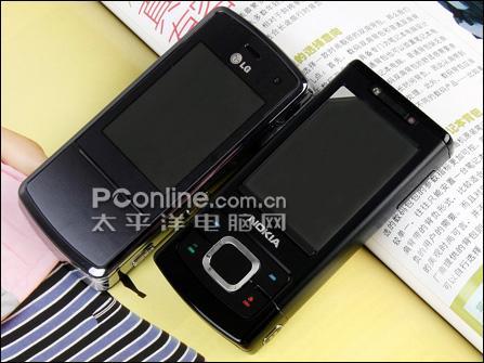 手机英雄会诺基亚6500s与LGKF510对比