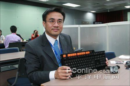 技嘉:耗资100万打造最顶级游戏键盘