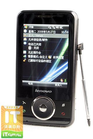 帅气新秀联想智能GPS手机ET860评测