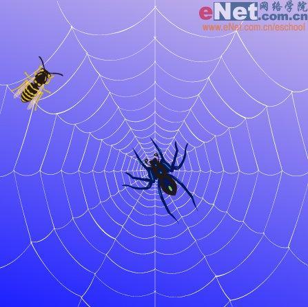 Illustrator设计蜘蛛网的2种制作方法