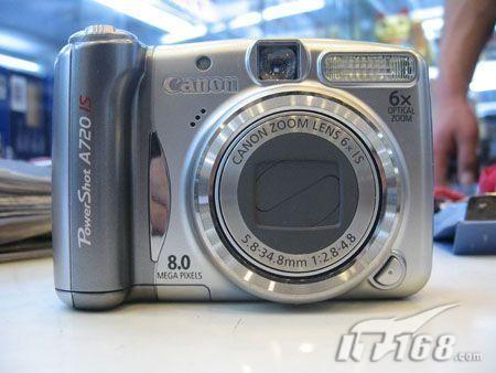 入门级手动相机佳能A720退市价1499元