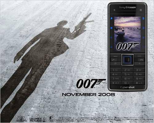特工专用索尼爱立信C902推出007限量版