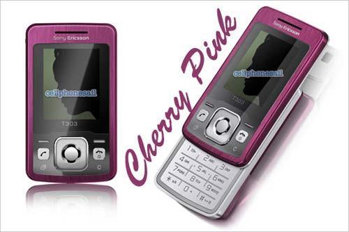 粉色风暴索尼爱立信三款手机推新颜色