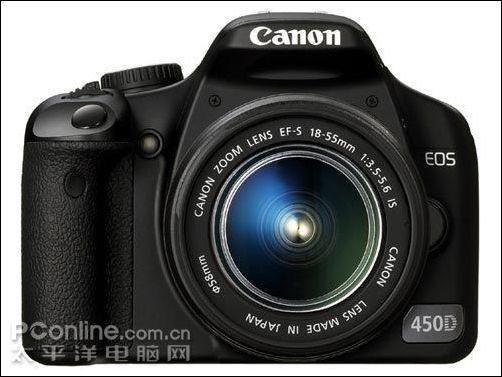 相机中的战斗机佳能450D套机仅4580元