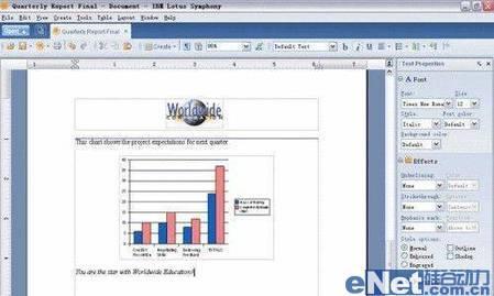 测评IBMLotusSymphony8特色功能(2)