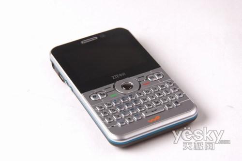 超薄全键盘 中兴联通定制3G手机N61评测