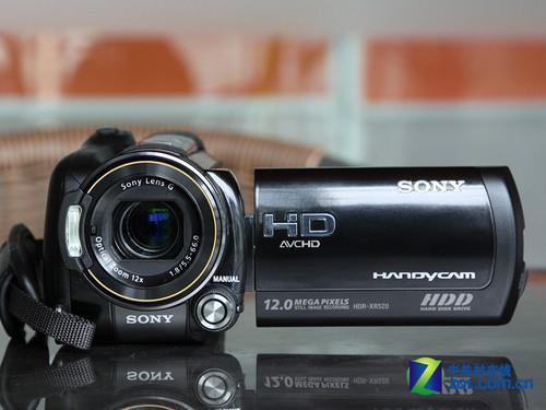 240G硬盘旗舰DV索尼XR520报价10700元