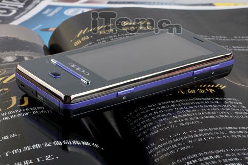 更强劲更时尚OPPO触屏T9风雅紫版评测