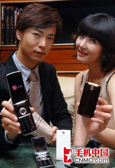 冰淇淋升级版LG发布翻盖手机KU4000