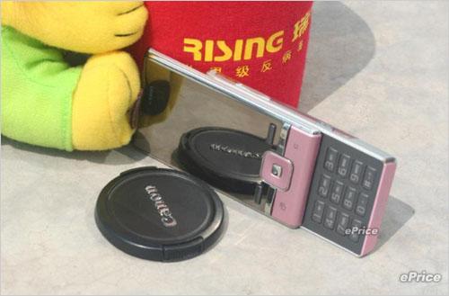 色彩诱惑索尼爱立信T715粉色亮相