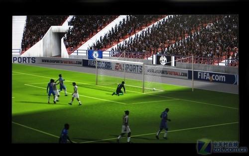 16:9占优 5大规格液晶实战《FIFA10》_硬件