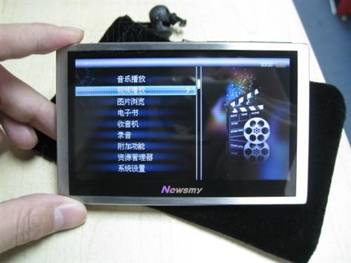 4.3英寸高清屏幕16GB纽曼A9HD仅售699