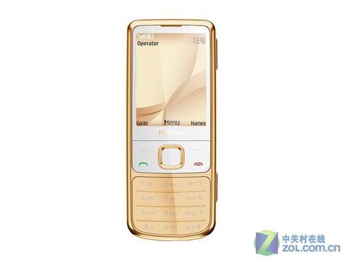 500万像素诺基亚6700c黄金版手机发布