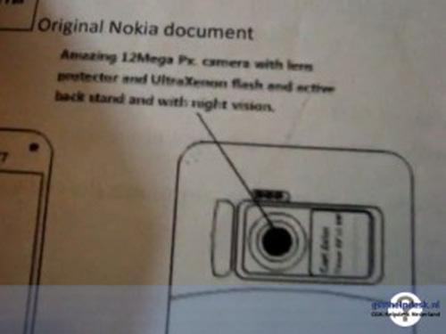 3.9寸触屏诺基亚拍照王N87细节披露