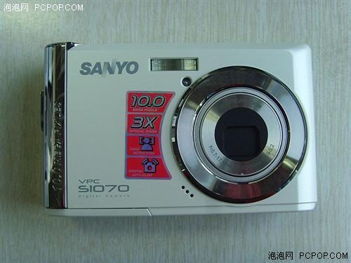 3倍光学变焦镜头三洋S1070仅售480元