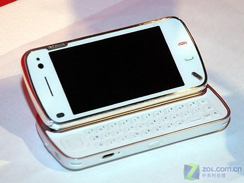 侧滑全键盘白色诺基亚N97行货售3780