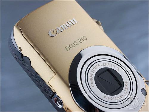 潮流时尚卡片相机佳能IXUS210评测