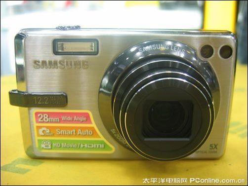 时尚家用卡片相机三星IT100最新价1900元