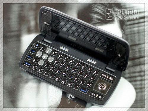 双屏全键盘怪兽 天翼3G机LG KV920到货