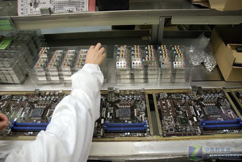 好主板怎么造 微星恩斯迈工厂全程揭秘_硬件